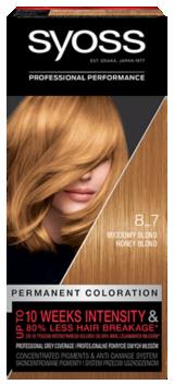 Syoss Trwała Koloryzacja Miodowy Blond 8_7