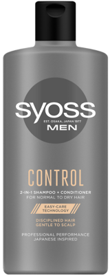 szampon SYOSS MEN CONTROL