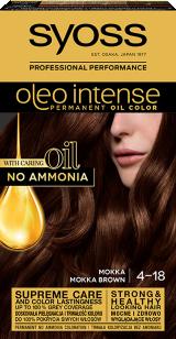 Syoss Oleo Intense Trwała Koloryzacja Z Olejkiem Mokka 4-18