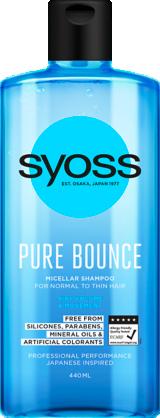 Szampon Syoss Pure Bounce