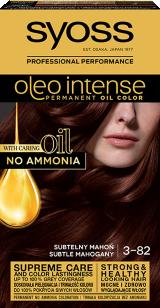 Syoss Oleo Intense Trwała Koloryzacja Z Olejkiem Subtelny Mahoń 3-82