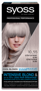 Syoss Trwała Koloryzacja Chłodne Blondy Ultra Platynowy 10_55
