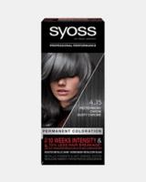 Syoss Vopsea permanentă de păr Syoss 4-15 Crom Mat