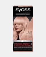 Syoss Vopsea de păr permanentă Syoss 9-52 Blond Auriu-Rosé Deschis