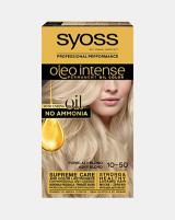 Syoss Oleo intense vopsea permanentă cu ulei - nuanta blond cenușiu deschis 10-50