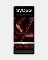 Vopsea de păr permanentă Syoss 4-2 Șaten Mahon
