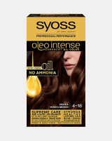 Syoss Oleo intense vopsea permanentă cu ulei - nuanta șaten mokka 4-18