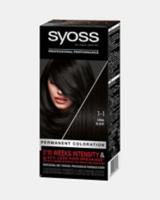 Стійка фарба для волосся Syoss Чорний 1-1