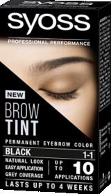 Syoss Brow Tint Black 1-1