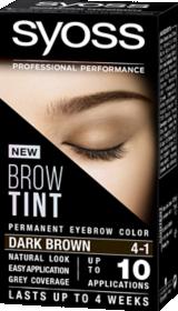 Syoss Brow Tint Dark Brown 4-1