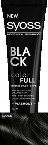 Syoss Color Full Black