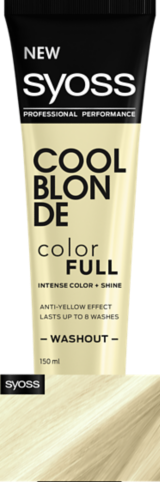 Syoss Color Full Cool Blonde