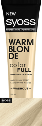 Syoss Color Full Warm Blonde