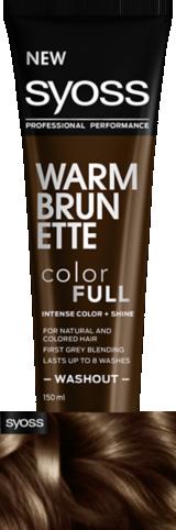 Syoss Color Full Warm Brunette