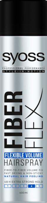 Syoss Fiber Flex Flexible Volume Hairspray