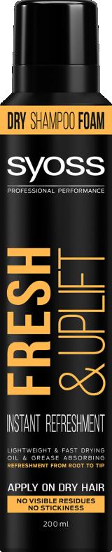 Syoss Fresh & Uplift Szárazsampon hab