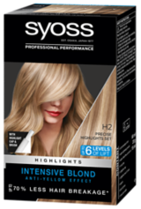Syoss Permanent Coloration Intensive Blond Highlights H2
