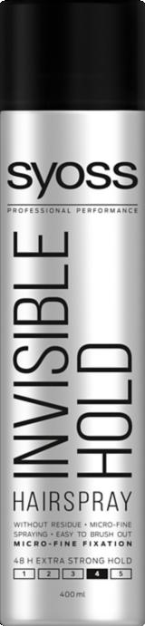 Syoss Invisible Hold Hairspray