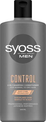 Syoss Men Control Shampoo