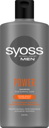 szampon SYOSS MEN POWER