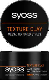 Syoss Texture Clay Hajformázó Krém