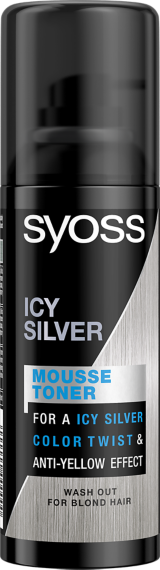 Syoss Mousse Toner ICY SILVER