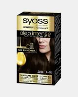 Syoss Oleo Intense Permanent Oil Color Black Brown 2-10