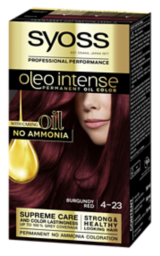 Syoss Oleo Intense Permanent Oil Color Burgundy Red 4-23
