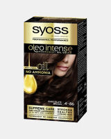 Syoss Oleo Intense Permanent Oil Color Chocolate Brown 4-86