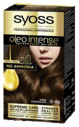 Syoss Oleo Intense Permanent Oil Color Dark Chocolate 3-86