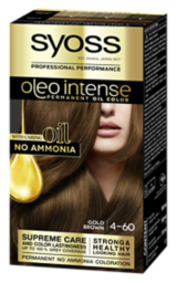 Syoss Oleo Intense Permanent Oil Color Gold Brown 4-60