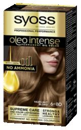 Syoss Oleo Intense Permanent Oil Color Hazelnut Blond 6-80