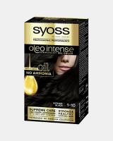 Боя за коса Syoss Oleo Intense Наситено черен 1-10