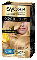 Syoss Oleo Intense Permanent Oil Color Sandy Blond 9-60
