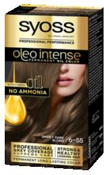 Syoss Oleo Intense Permanent Oil Color Smoky Dark Blond 6-55