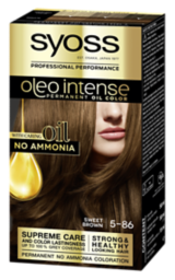 Syoss Oleo Intense Permanent Oil Color Sweet Brown 5-86