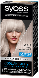 Syoss Permanent Coloration Cool Blonds Cool Platinum Blond 12_59