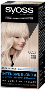 Syoss Permanent Coloration Cool Blonds Cool Rose 10_53