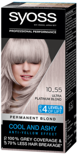 Syoss Permanent Coloration Cool Blonds Ultra Platinum Blond 10_55