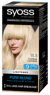 Syoss Permanent Coloration Lightener Platinum Lightener 13_5