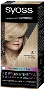 Syoss Permanent Coloration Trending Now Cendre Light Blonde 8_1