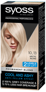 Syoss Permanent Coloration Cool Blonds Arctic Blond 10_13