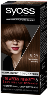 Syoss Permanent Coloration Chestnut Brown 5_28
