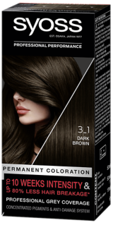 Syoss Permanent Coloration Dark Brown 3_1