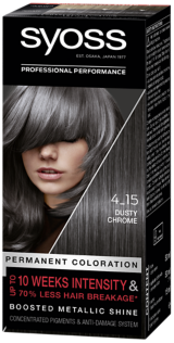 Syoss Permanent Coloration Dusty Chrome 4_15