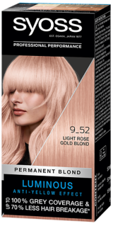 Syoss Permanent Coloration Light Rose Gold Blond 9_52