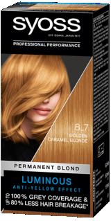 Syoss Permanent Coloration Golden Caramel Blonde 8_7