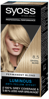 Syoss Permanent Coloration Golden Crystal Blond 8_5