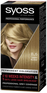 Syoss Permanent Coloration Light Blond 8_6
