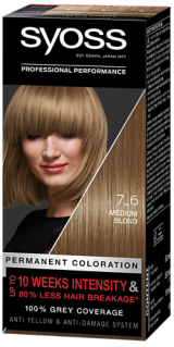 Syoss Permanent Coloration Medium Blond 7_6